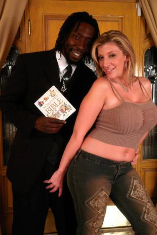 Sara Jay interracial tease